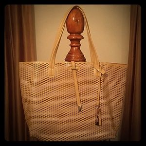 Vince Camuto Leather Tote